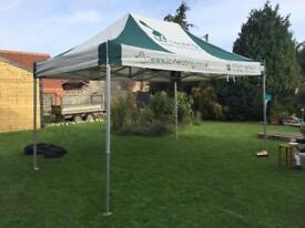 Event shelter surf and turf instant shelter