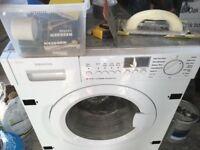 Integrated appliances: fridge, freezer, washing machine, dishwasher