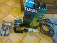 Fish tank Fluval filter 103 complete with spray bar and spares.
