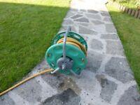 Hozelock 20m garden hose hosepipe freestanding reel