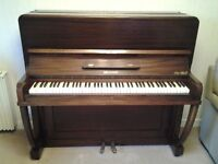 Brahms Upright Piano, good condition but may need tuning.