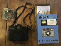 Holga film camera 120mm very good condition good for photography art projects