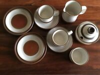 Denby Potters Wheel Teaset