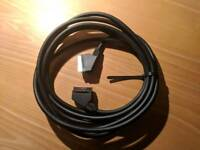 5m extra long Scart cable