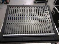 DDA Interface Mixing Desk Console 16/4/2 Channel With PSU & Flightcase