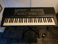 Yamaha PSR-500 with stand and a/c power