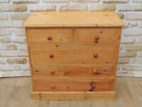 3+ 2 compact Welsh pine chest (Delivery)