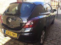 Vauxhall Corsa SXI AC. 62 plate. FSH, mileage 28,475. Manual ,Petrol, 1200cc. New MOT, Black.