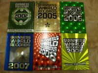 Guinness book of records x 6