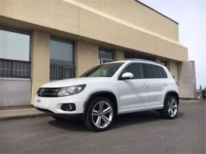 2014 Volkswagen Tiguan HIGHLINE - R-LINE PACK, PANORAMIC ROOF, G