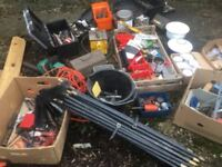 job lot of tools, plumbers, spanners allsorts large amount