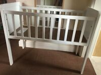 Mothercare Hyde White Crib