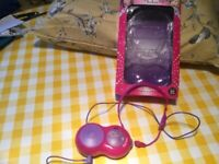 Boots glitter babes microphone with speaker/amp fully working