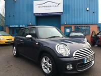 2013 MINI HATCH ONE 1.6 (SPORT CHILLI) # GENUINE LOW 21,000 MILES # AUX & USB # LIKE NEW # CAT S
