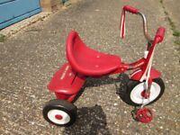 Kids' Radio Flyer tricycle