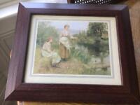 Ladies of the Lake Print in Frame