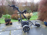 electric golf trolley powakaddy