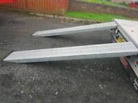 Ifor williams 8ft trailer loading ramps