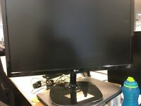 "Lg 21.5"" hd monitor excellent condition model 22mp57vq"