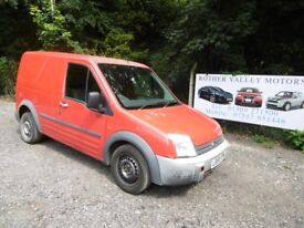 Ford Transit Connect T200 L75 Diesel Van In Red, 2006 56 reg, Only One Former Owner, MOT July 2019