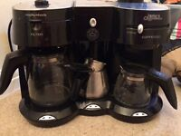 Combi coffee machine with frother