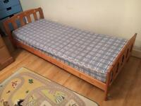 Mothercare pine single bed