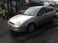 BREAKING - FORD FOCUS - DOORS - SILVER £20 EACH - ALL PARTS AVAILABLE