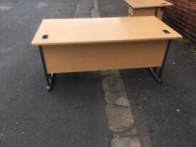 Office desk with pedestal 10 Available