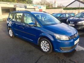 VOLKSWAGEN TOURAN 1.6 TDI DIESEL, 2012 **DRIVE THIS AWAY FROM AS LITTLE AS £48 A WEEK**