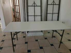 8 PARTY TABLES FOR SALE @ 20 POUNDS EACH