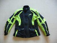 Motorcycle Winter Coat. RICHA. Large V.G.C. Reduced to £70