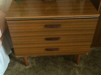 Dressing table and matching drawer set