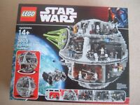 BNIB lego STAR WARS DEATH STAR 10188 retired product very rare in factory sealed box
