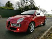2009 ALFA ROMEO MITO LUSSO T 155 FINCE FROM ONLY £90 PER MONTH