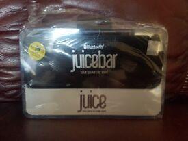 Juice bluetooth speaker new