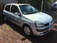 2004 RENAULT CLIO DYNAMIQUE 1.2 MOT MARCH 2018! DRIVE AWAY TODAY!