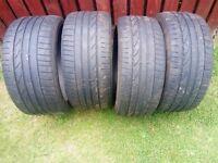Part Worn BMW Runflat tyres