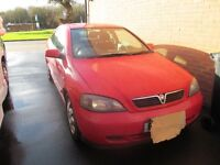 VAUXHALL ASTRA BERTONE 2.2 AUTO, RED, LOADS OF HISTORY, ALL MOTS TO WARRANTY THE MILES.MOT MAY 2017