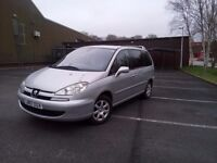 2007 Peugeot 807 October mot 7seater