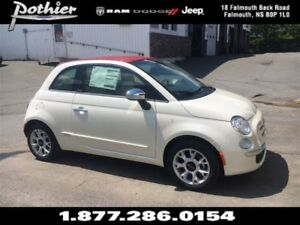 2017 Fiat 500 Lounge Cabrio | LEATHER | HEATED SEATS | KEYLESS |