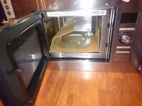 Russell hobs Intergrated microwave stainless steel