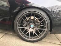 BMW CSL alloy wheels alloys - staggered - matte gunmetal - with tyres E93 E92 M3