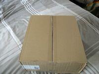 Box of Blue Transfer Spring Files x 50 - £10