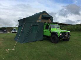 Landrover Defender 110 Hardtop 300Tdi, Galvanised Chassis, Camper, Hannibal Roof Tent & Rack
