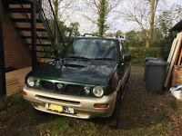 7 seater Nissan Terrano II 1997. Spares or Repair