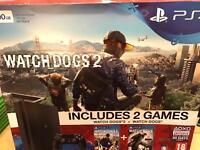 Latest PS4 slim 500GB + watchdogs receipt and warranty
