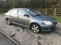 Toyota avensis 1.8 Petrol 53/2004 new mot & service cheap cars under £1000