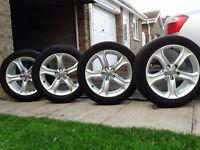 For sale set genuine alloys AUDI A5,a4,a3 , 5x112