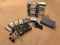 PS1 & PS2 Console And game
