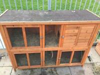 Rabbit hutch large